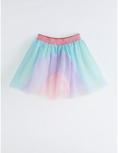 Girls Rainbow Skirt-Cotton Summer