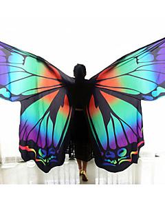 Hastánc Női Pillangó forma 2 darab Virágos/Botanikus Pillangó téma Karácsony Tavasz Tündérek Ünneő Állat Emberek 1 Tartó Szárnyak