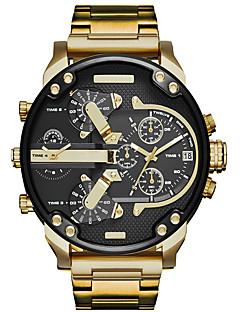 Dame Herre Sportsklokke Militærklokke Selskapsklokke Moteklokke Armbåndsur Unike kreative Watch Hverdagsklokke Kinesisk QuartzKalender