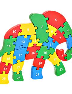 Puzzles Kit de Bricolage Blocs de Construction Jouets DIY  Eléphant