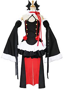Cosplay Kostüme Kleider Cosplay Tops / Bottoms Kopfbedeckung Handschuhe Mehre Accessoires Inspiriert von Seraph des End Cosplay Anime