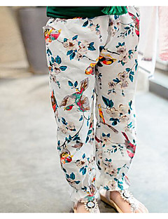 Girls' Floral Pants Fall