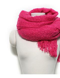 Feminino Cashmere imitação Inverno Todas as Estações Retângular,Sólido