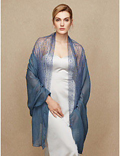 Women's Wrap Shawls Cotton Lace Wedding Party/ Evening Lace