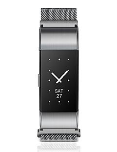 Pánské Módní hodinky Digitální Nerez Kapela Černá Stříbro