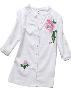 Halenka / košile Klasická a tradiční lolita Lolita Cosplay Lolita šaty Tisk Krátký rukáv Lolita Halenka Pro Bavlněná látka