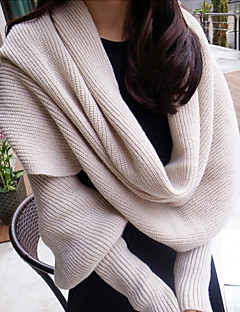 Cashmere Scarf Raglan Sleeve Thickening Lengthening Sweater Women's Men Korea Scarves Shawl Long Rectangle Winter Lady's Valentine Christmas Gift