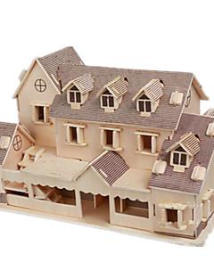 GDS-sett 3D-puslespill Puslespill Leketøy Kjent bygning Hus Arkitektur 3D Uspesifisert Unisex Deler