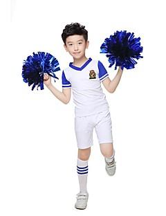 Amigo Kostümleri Kıyafetler Genç Erkek Performans Polyester 2 Parça Kısa Kol Yüksek Üstler Şort