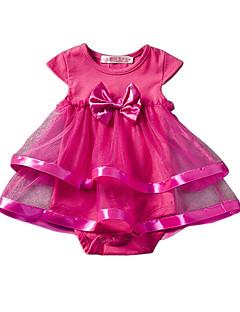Baby Bluse Helfarve-Akryl Polyester-Sommer-