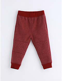 Boys' Solid Color Pants-Cotton Spring/Fall