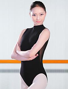 Balett Akrobatatrikó Női Edzés Spandex 1 darab Ujjatlan Magas