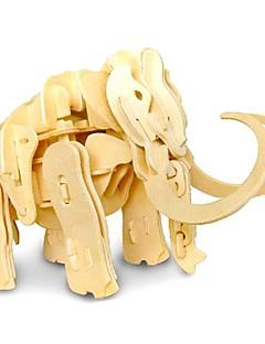 Puslespill GDS-sett 3D-puslespill Byggeklosser GDS-leker Elefant