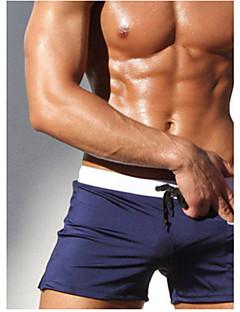 בגדי ריקוד גברים ייבוש מהיר נושם חומרים קלים אלסטיין טאקטל חליפת צלילה מכנסיים בגדי ים תחתיות-כושר גופני שחייה חוף ריצה