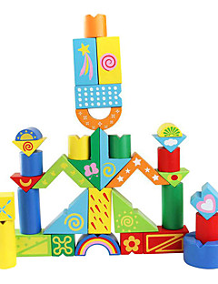 Educatief speelgoed Speeltjes Voor cadeau Bouwblokken Rechthoekig 3-6 jaar oud Speeltjes