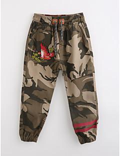 Drenge Bukser camouflage-Bomuld Efterår