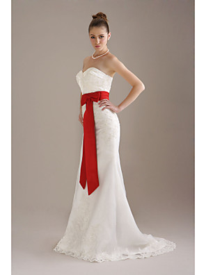 térdig érő esküvői / menyasszonyi szalag szárny (fsd0242)