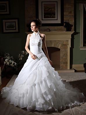 Lanting Bride® Plesové šaty Drobná / Nadměrné velikosti Svatební šaty - Klasické & nadčasové / Elegantní & luxusní / Okouzlující &
