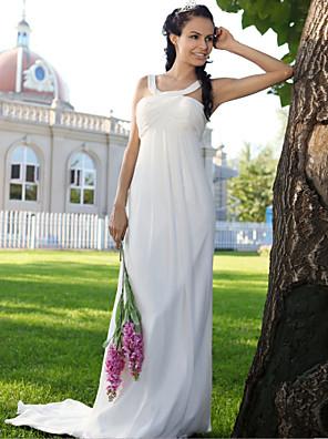lanting 신부 시스 / 아담 열 / 플러스 웨딩 드레스 - 청소 / 브러쉬 기차 크기