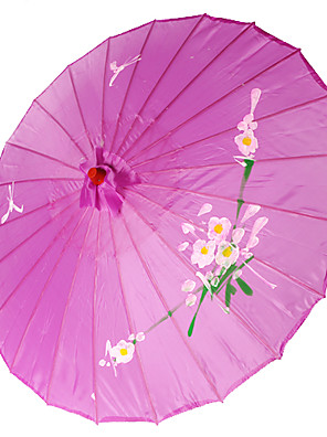 Kerti témák / Ázsiai témaSelyem-Bambusz-Napernyő(Halványlila)Tavasz / Nyár 48 cm magas × 82 cm átmérőjű 48 cm magas