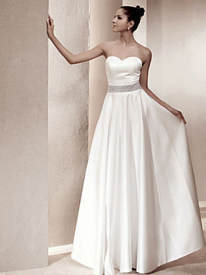 Lanting Bride® A-line / Princess Petite / Plus Sizes Wedding Dress - Classic & Timeless / Chic & Modern / Elegant & Luxurious / Glamorous