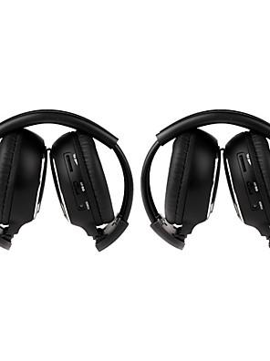 2 PCS אינפרא אדום לרכב אוזניות האלחוטית IR- 2011D סטריאו