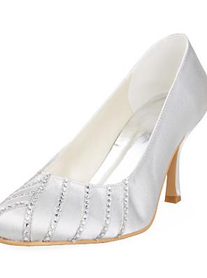 Wedding Shoes - Saltos - Saltos - Preto / Rosa / Vermelho / Marfim / Branco / Prateado / Dourado - Feminino - Casamento