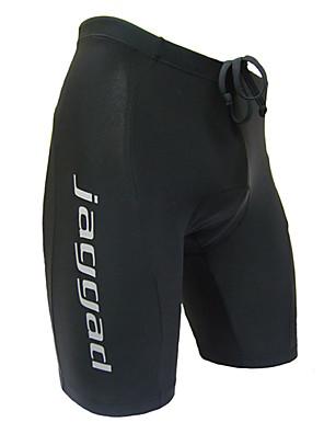 JAGGAD® Bermudas Acolchoadas Para Ciclismo Homens Moto Respirável / Secagem Rápida / Tiras Refletoras Shorts / Shorts Acolchoados / Fundos