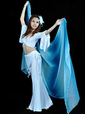 אביזרי ריקוד אביזרי במה בגדי ריקוד נשים ביצועים משי