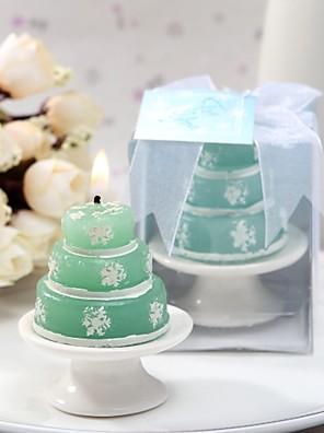 dejlige grønne lys med sne prints
