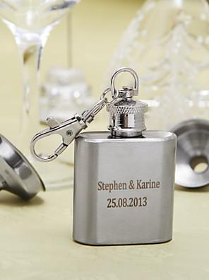 Vőlegény / Násznagy Ajándékok Darab / Set Flaska Glam / Klasszikus Esküvő / Évforduló / Születésnap Rozsamentes acél Személyre szabott