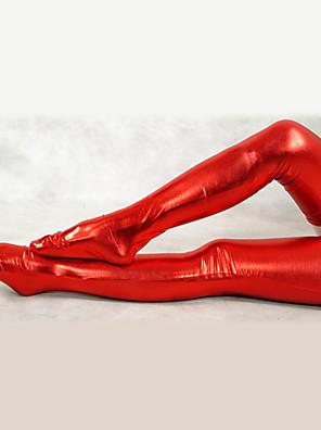 Red Shiny Metallic Sukkahousut (2 kpl)