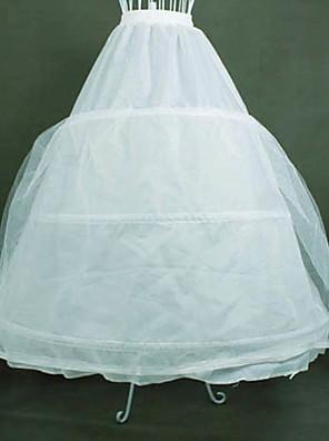 Saia Lolita Clássica e Tradicional Lolita Cosplay Vestidos Lolita Branco Cor Única Lolita Comprimento Longo Vestido Para Feminino Organza
