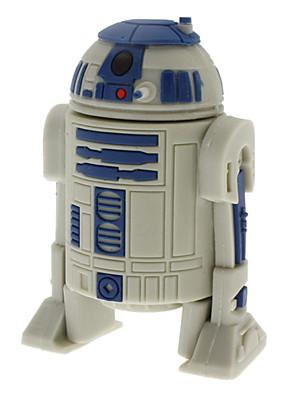 8GB R2-D2 robot nagy sebességű USB 2.0 Flash pen drive szürke