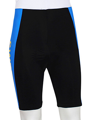 KOOPLUS® Bermudas Acolchoadas Para Ciclismo Homens Moto Respirável / Vestível / Tiras Refletoras / Tapete 4D Shorts / Fundos100%