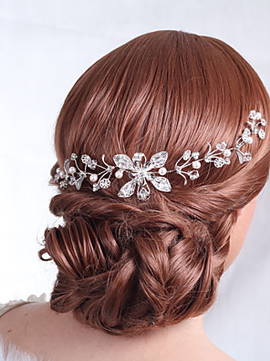 נשים סגסוגת כיסוי ראש-חתונה / אירוע מיוחד פרחים