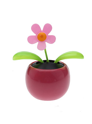 solarbetriebene Flip Flap Blume Pflanze