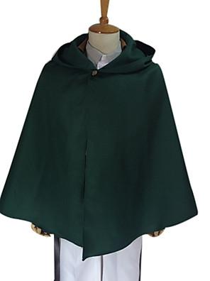 קיבל השראה מ Attack on Titan Levy אנימה תחפושות קוספליי חולצות קוספליי / תחתון אחיד ירוק שרוולים ארוכיםמעיל / חולצה / מכנסיים / אביזרי