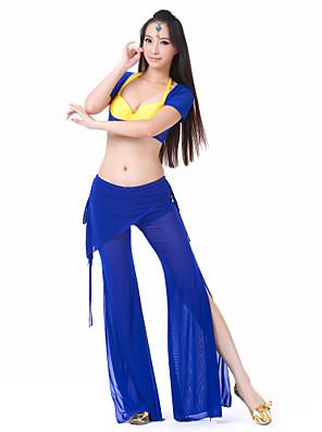 ריקוד בטן תלבושות בגדי ריקוד נשים ספנדקס שרוול קצר