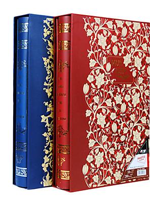 """Arany virág Aranyozás papír 3 """"* 5"""" Photo Album (300 Pocket)"""