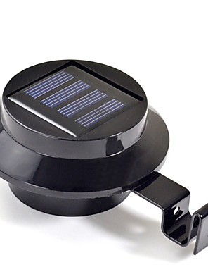 Nieuwe 3 LED op zonne-energie Gutter Deur Hek Muur Light Outdoor Garden Verlichting (cis-57208)
