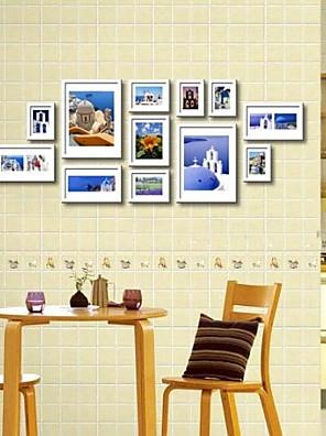 Wit foto kozijn collectie set van 12