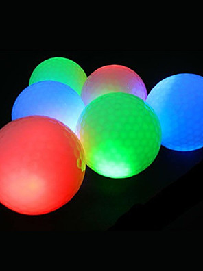 LED lys op golfbolde, elastisk gleamy golf