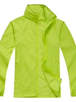 ג'קט לרכיבה לנשים / לגברים / יוניסקס שרוול ארוך אופנייםעמיד למים / נושם / ייבוש מהיר / עמיד אולטרה סגול / מוגן מגשם / חדירות גבוהה לאוויר