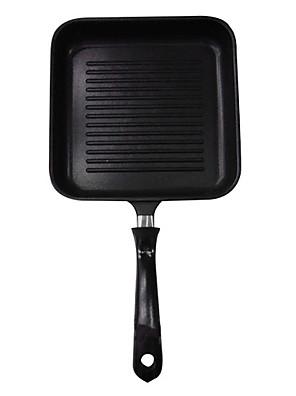 padnigr ® støbejern grill pander med håndtag, w15cm xl24cm