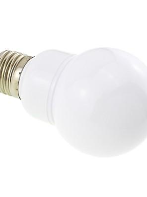 E26/E27 4W 27 SMD 5730 400 LM Warm wit G60 LED-bollampen DC 12 / AC 12 / AC 24 / DC 24 V