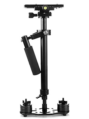 0.6m אלומיניום מייצב כף יד ירי מהדורה עבור hdvs, מצלמות וידאו ומצלמות DSLR