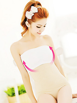 dámské bezešvé trubky top sportovní prádlo Basic Plus sizetube top kolem hrudníku ubrousky ňadra bílé ny098