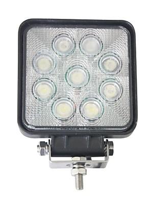 """liancheng® 4 """"27W 2160 lumen super heldere vierkante LED verlichting voor off-road, tractor, utv, atv"""