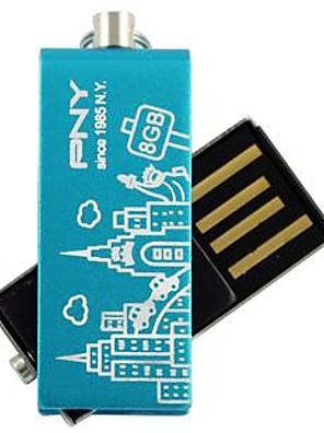 PNY mooie attaché Parijs Eiffeltoren 8gb usb flash drive